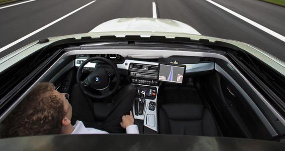 BMW enterijer