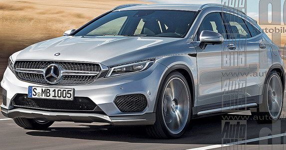 Mercedes GLA Coupe