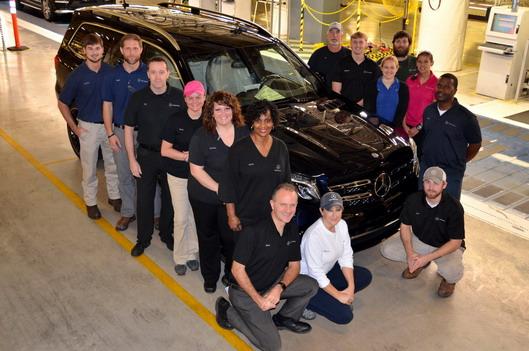 Mercedes GLS USA