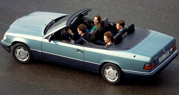 Mercedes E klase Cabrio W124