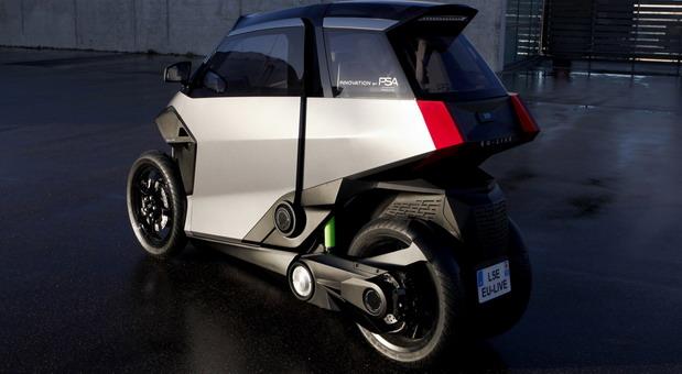 psa PHEV Light Vehicle Concept