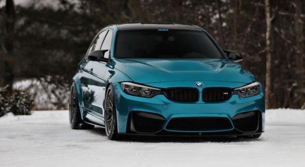 BMW M3 Atlantis Blue