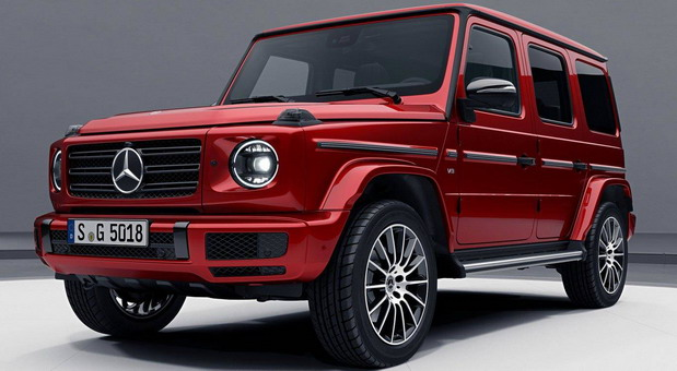 Mercedes G Night Package