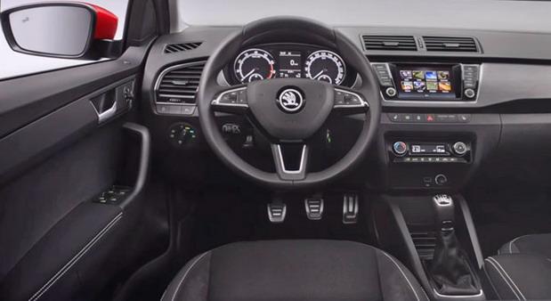 Škoda Fabia facelift