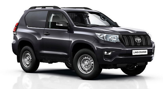 Toyota Land Cruiser Utility Commercial