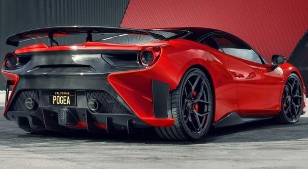 Pogea Ferrari 488 FPlus Corsa