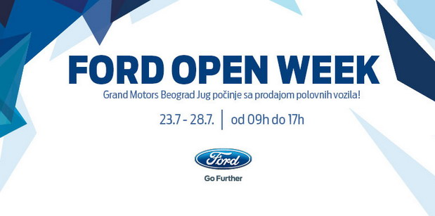 Ford Open Week