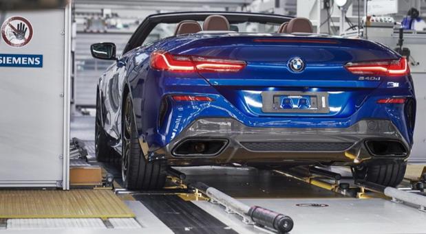 BMW fabrika
