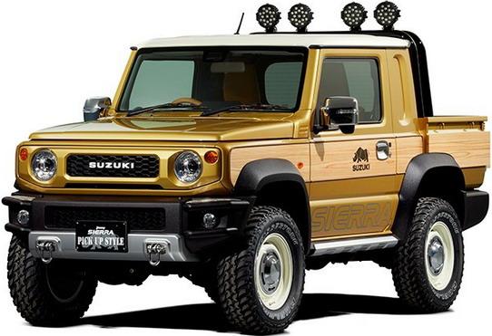 Suzuki Jimny Sierra Pick up Style