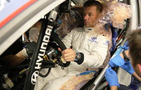 Hyundai WRC Loeb