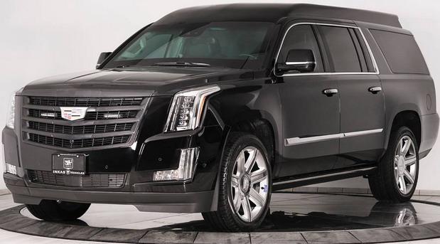 Inkas Cadillac Escalade Chairman Package