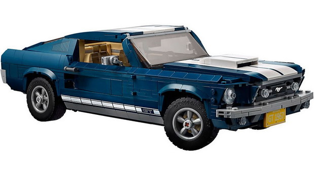 1967 Ford Mustang by LEGO