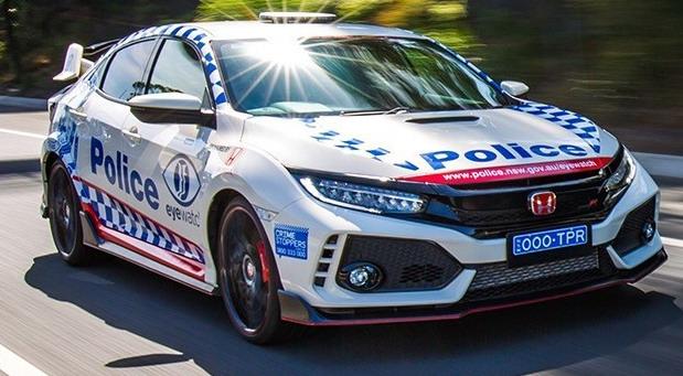 Honda Civic Type R za australijsku policiju