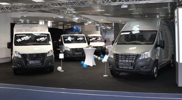 Grupa GAZ na Međunarodnom salonu automobila