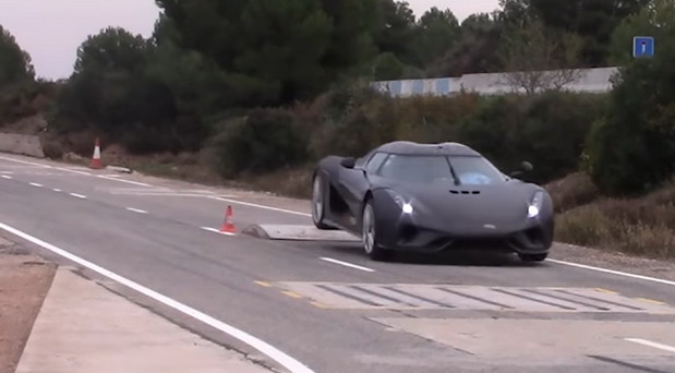 Koenigsegg test