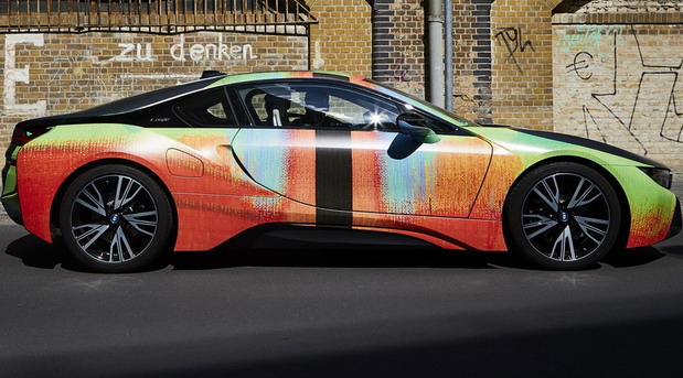 BMW i8 Art Car