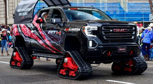 GMC Sierra 1500 AT4 All Mountain concept