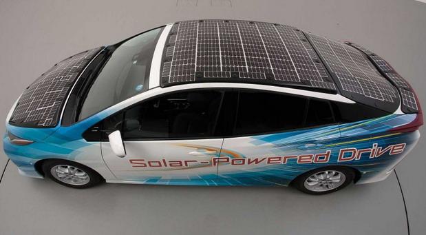 Toyota Prius sa solarnim ćelijama