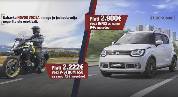 Suzuki finansiranje
