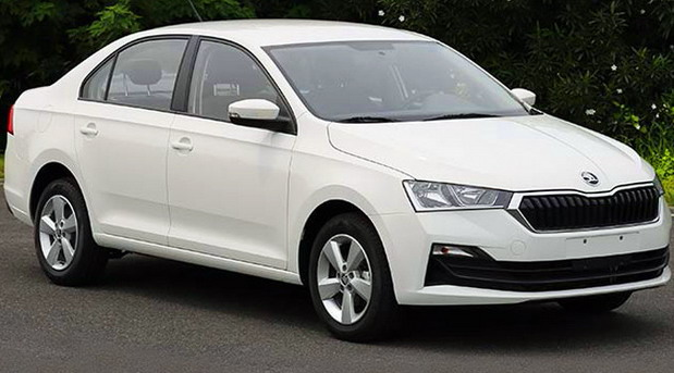 Škoda Rapid facelift