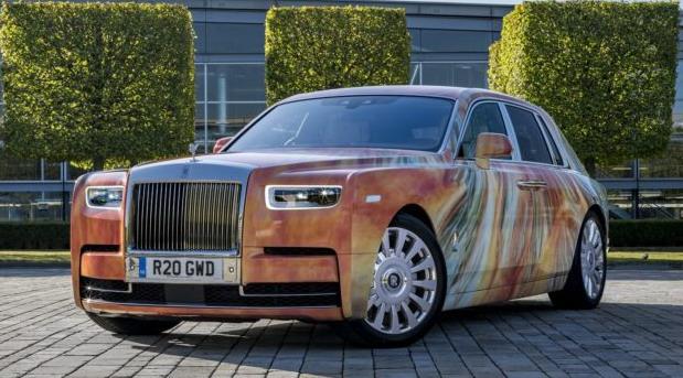 Rolls-Royce Phantom by Marc Quinn