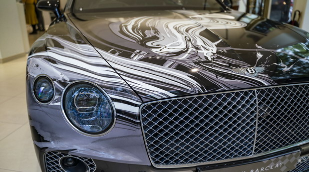 Bentley Continental GT art car