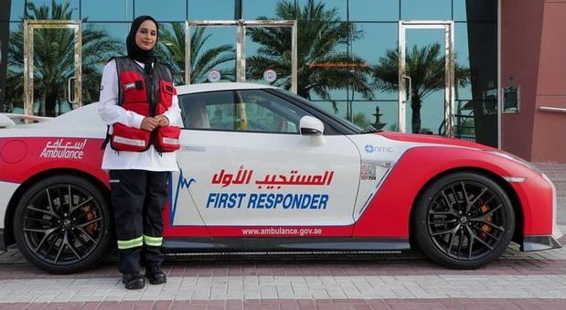 Nissan GT-R u floti hitne pomoći u Dubaiju