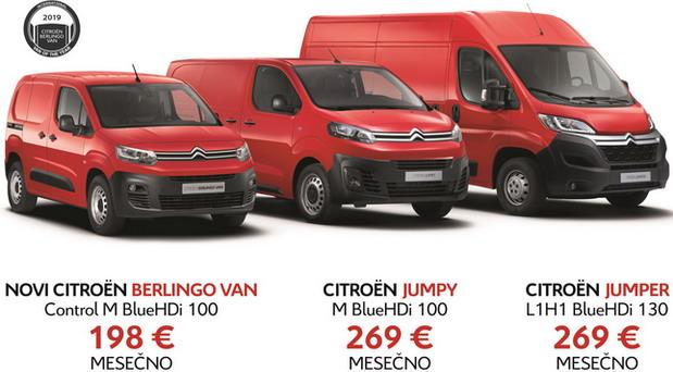 Citroen komercijalna vozila