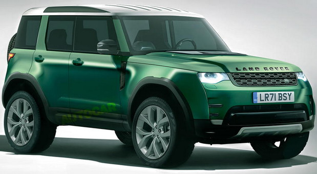 Land Rover Baby