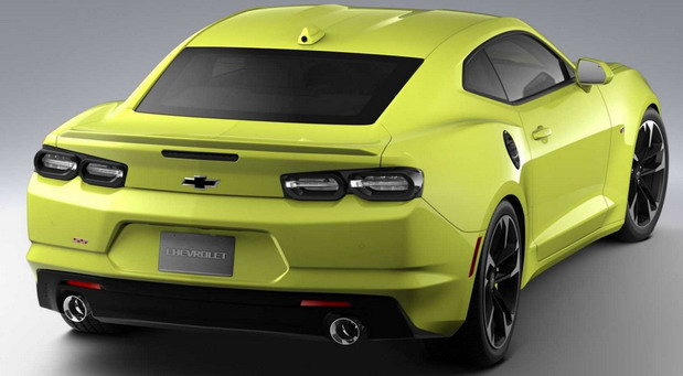 Chevrolet Camaro Shock & Steel