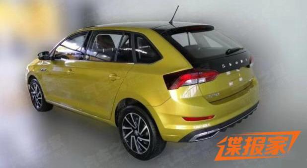 Škoda Rapid Spaceback facelift