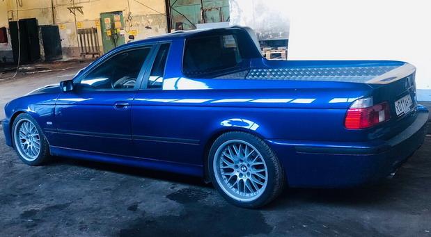 BMW 530d pick-up
