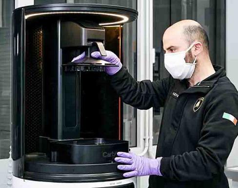 Lamborghini proizvodi zaštitne maske i vizire