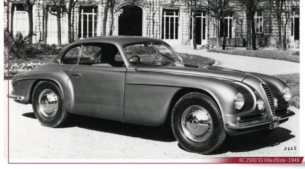 Alfa 6C 2500 Villa d'Este