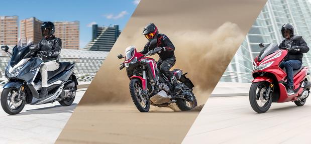 Honda motocikli akcijska ponuda