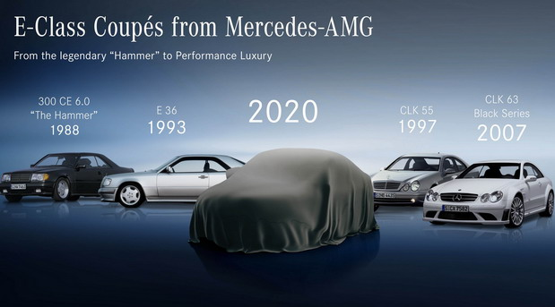 Mercedes E klase Coupe