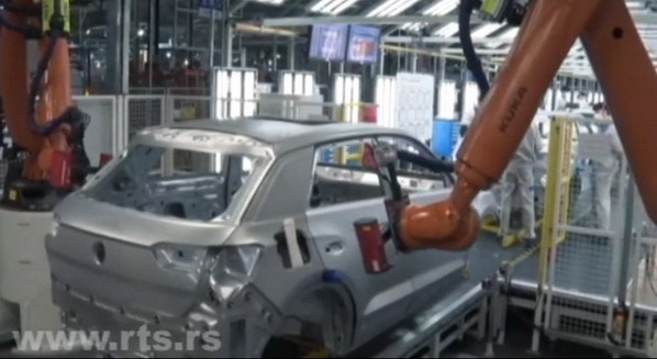 VW fabrika