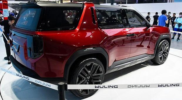 Wuling Hongguang X concept