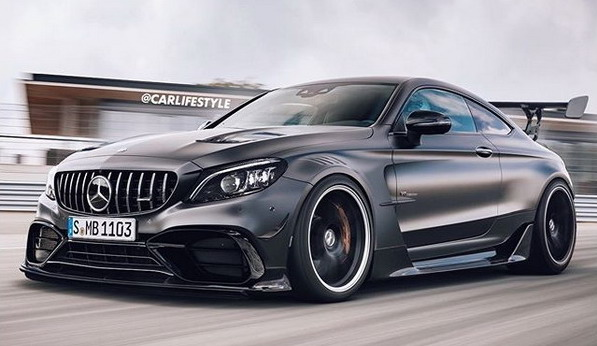 Mercedes-AMG C63 Coupe Black Series