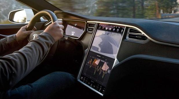Tesla ekran