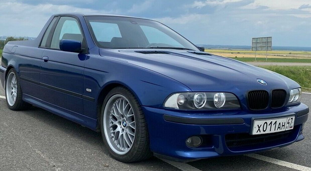 BMW E39 530d pick-up