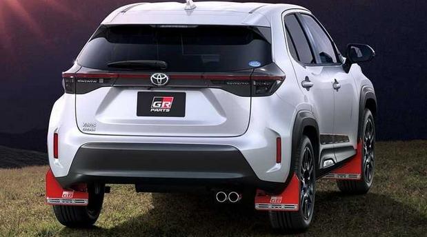 Toyota Yaris Cross GR Parts