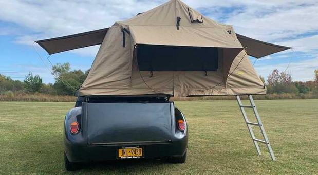 Volkswagen Beetle kamper