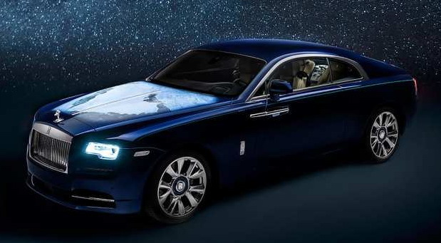 Rolls-Royce Wraith - Inspired by Earth