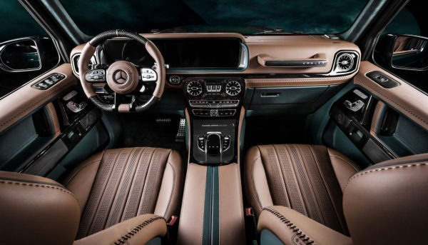 Mercedes-AMG G63 Racing Green Edition