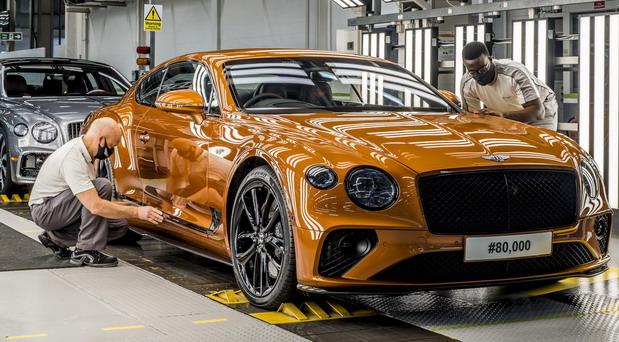 Bentley proizveo 80.000-ti Continental GT