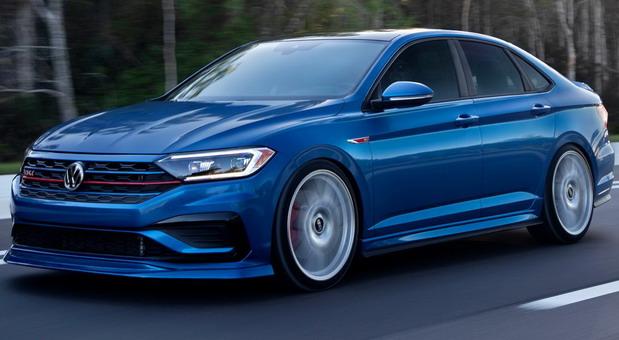 Volkswagen Jetta Blue Lagoon GLI Concept