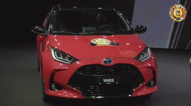 Toyota Yaris je Evropski automobil godine 2021