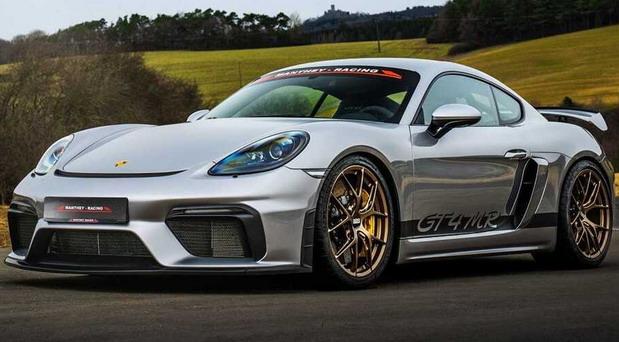 Manthey Porsche 718 Cayman GT4 MR