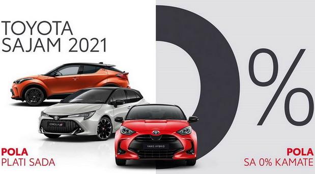 Toyota sajam 2021